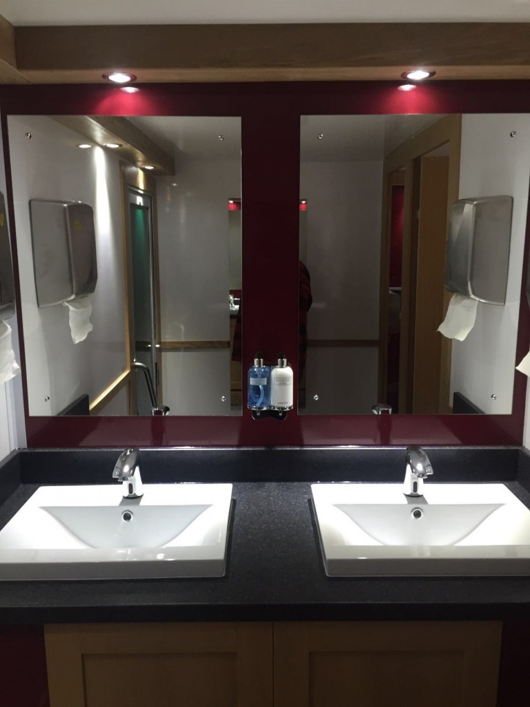 Launch of our new 39 deco 39 range toilet trailers in scotland click here for photos classical for Wc deco modern